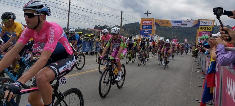 Arranca la 4ta Etapa del Tour Colombia 2.1. Hoy Paipa - Santa Rosa de Viterbo 10