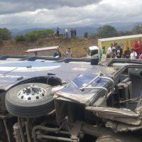 Grave accidente se atiende a esta hora en la vía Tunja - Bogotá 1