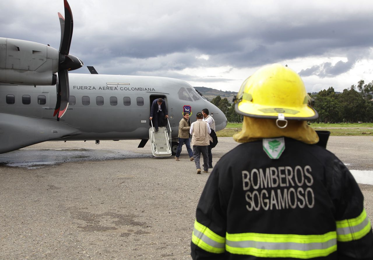 El aeropuerto de Sogamoso Alberto Lleras Camargo fue inaugurado el 8 de diciembre de 1946.