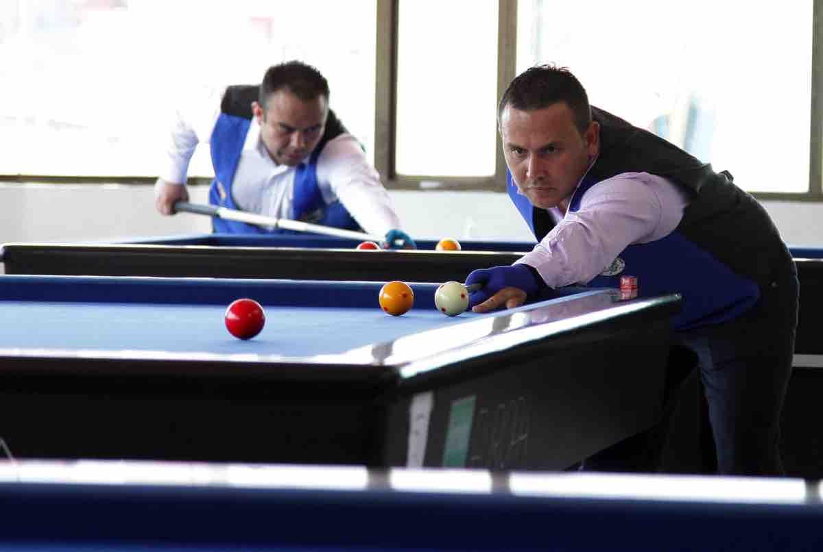 En las instalaciones del Club Rino de Tunja se realiza hoy el Campeonato Departamental de Billar a Tres Bandas, rama masculina