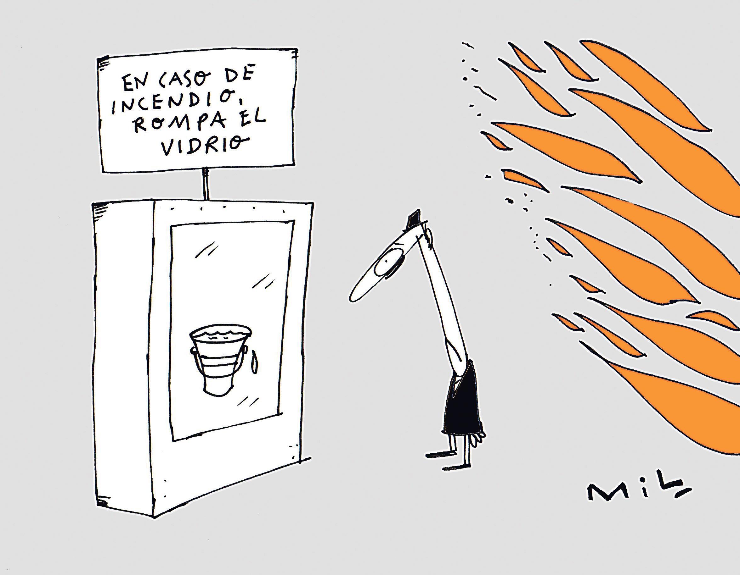 Caricatura 13 de Febrero de 2020