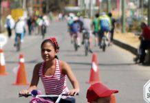 Ciclo vía en Tunja