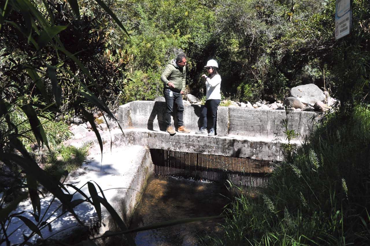 El río Surba está siendo monitoreado las 24 horas para conocer el estado del caudal para el suministro.