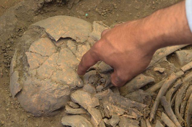 Se han encontrado 30 tumbas 11