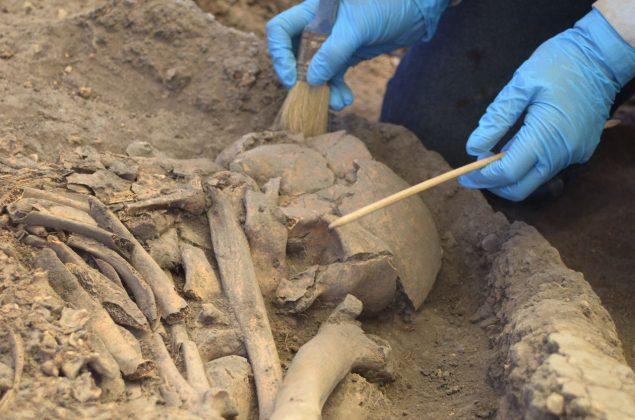 Se han encontrado 30 tumbas 9