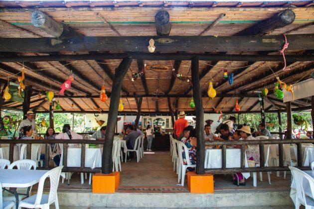 Los Lagos, un restaurante ubicado en Togüí, en el que además de una exquisita mojarra, cuenta con una envidiable naturaleza. 17