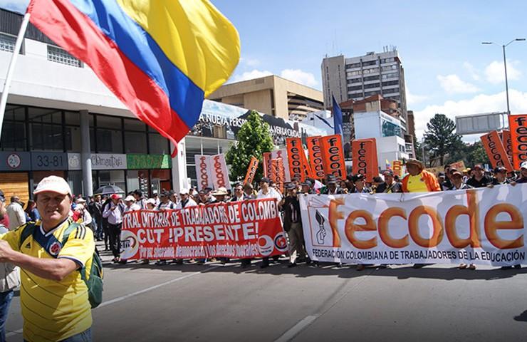 El comité ejecutivo del sindicato de Fecode convoca a paro este 20 y 21 de febrero para rechazar asesinatos.