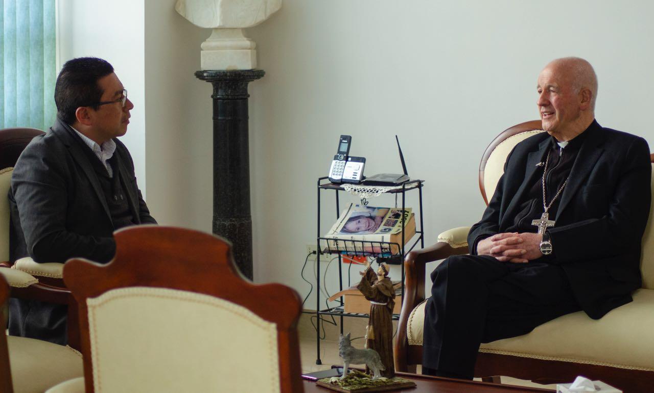 Monseñor Luis Augusto Castro Quiroga, arzobispo de la Diócesis de Tunja, entregará su cargo en marzo, pero seguirá visitando Boyacá.