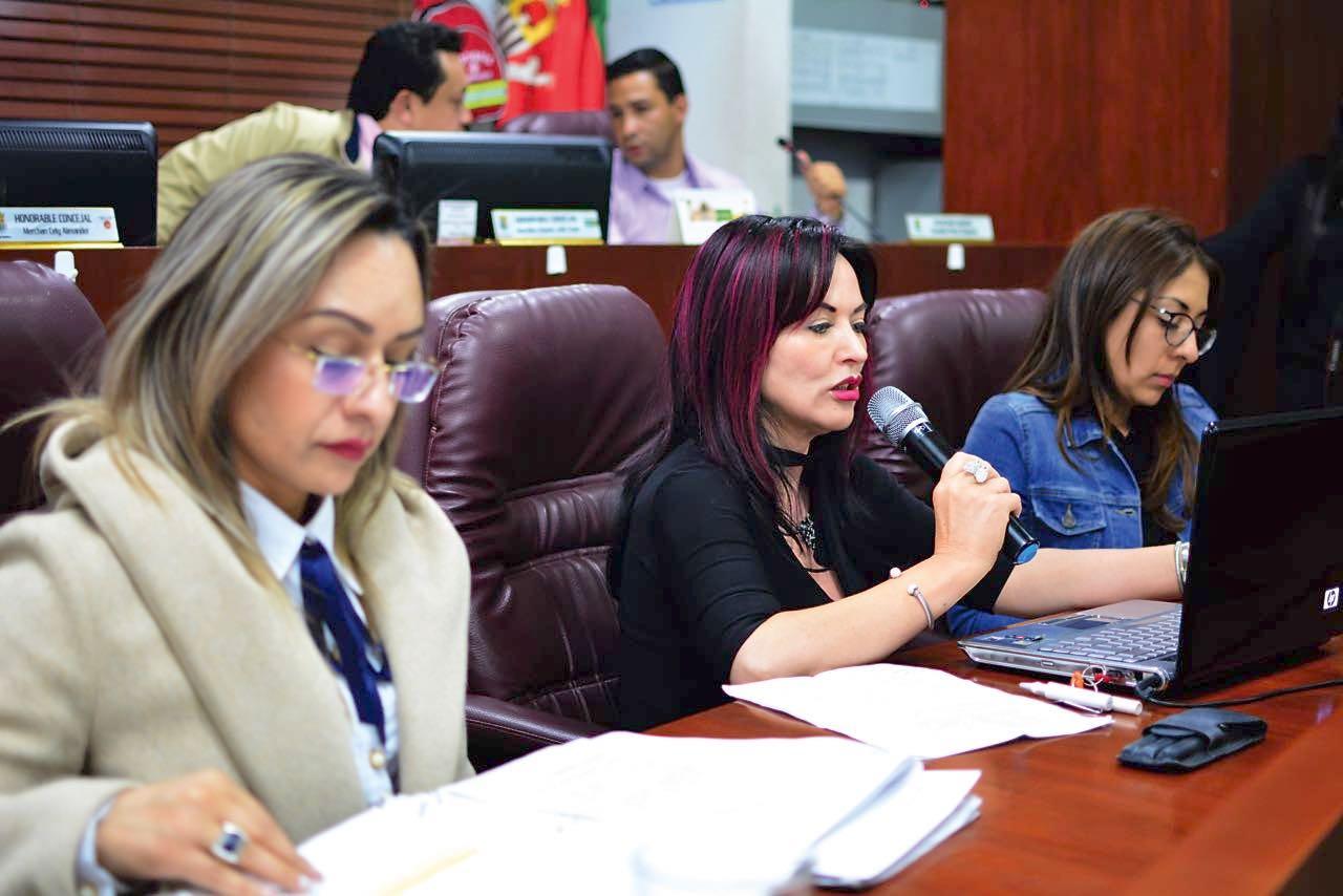 La secretaria de Hacienda explicó las razones que la llevan a pensar en descuentos para los morosos.