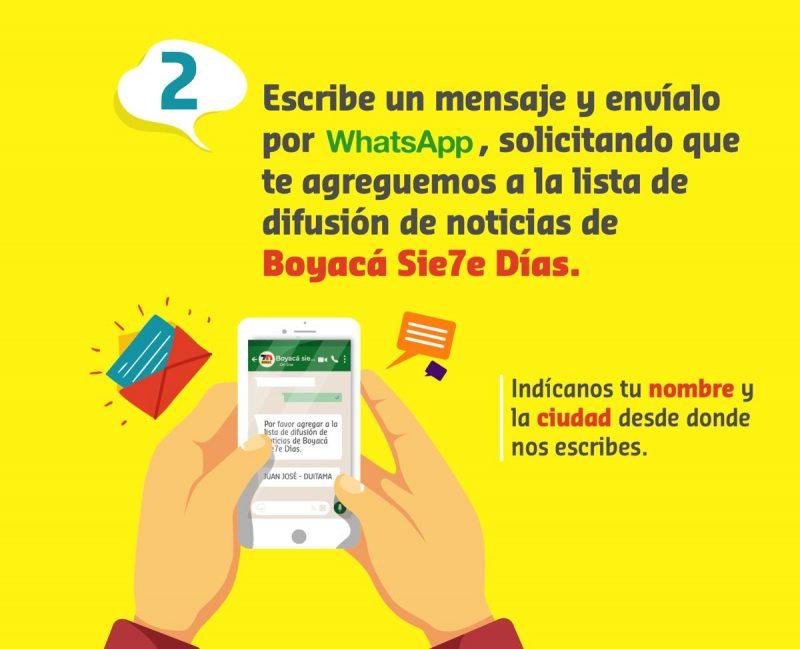 Boyacá Sie7e Días en Whatsapp 5