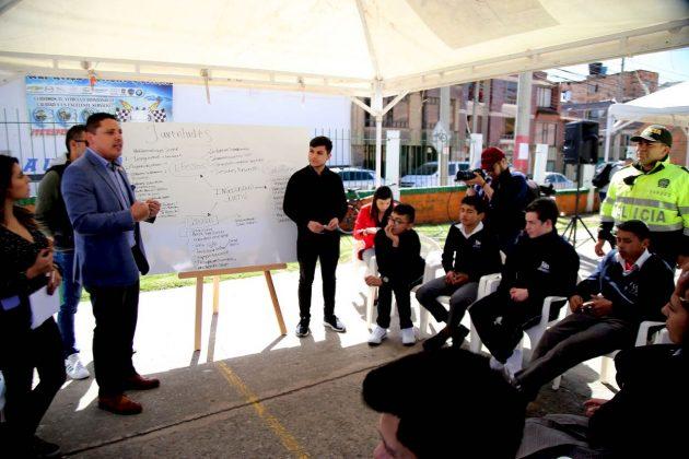 Tunjanos construyen el Plan de Desarrollo 1