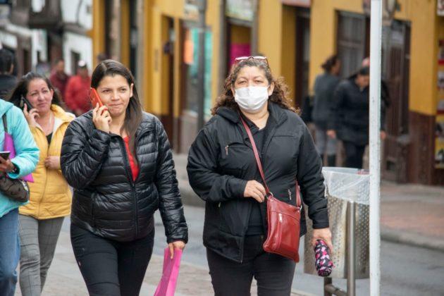 [Galería] Los tunjanos están prevenidos para evitar contagiarse con el Covid-19. Tapabocas y geles están agotados. 3
