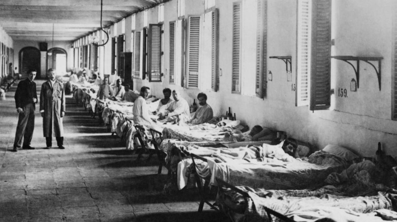 La gran epidemia de la Edad Media fue la conocida peste negra o bubónica, que asoló a toda Europa