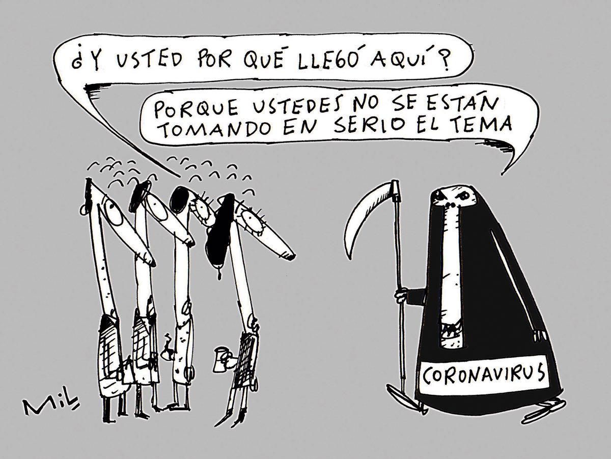 Caricatura 18 de Marzo de 2020