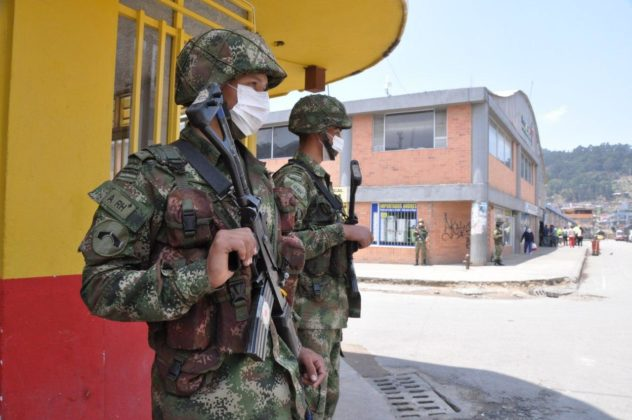 Con Ejército, la Alcaldía de Duitama busca hacer cumplir la orden de aislamiento preventivo 1