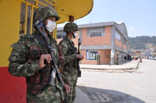 Con Ejército, la Alcaldía de Duitama busca hacer cumplir la orden de aislamiento preventivo 3