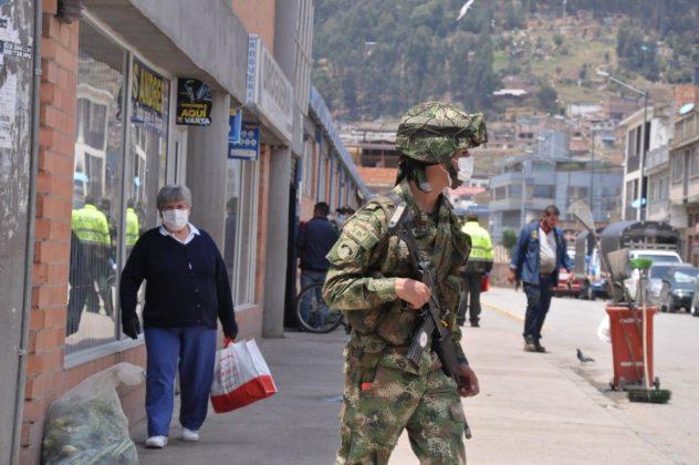 Con Ejército, la Alcaldía de Duitama busca hacer cumplir la orden de aislamiento preventivo 5