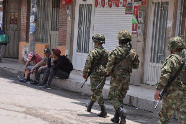 Con Ejército, la Alcaldía de Duitama busca hacer cumplir la orden de aislamiento preventivo 2