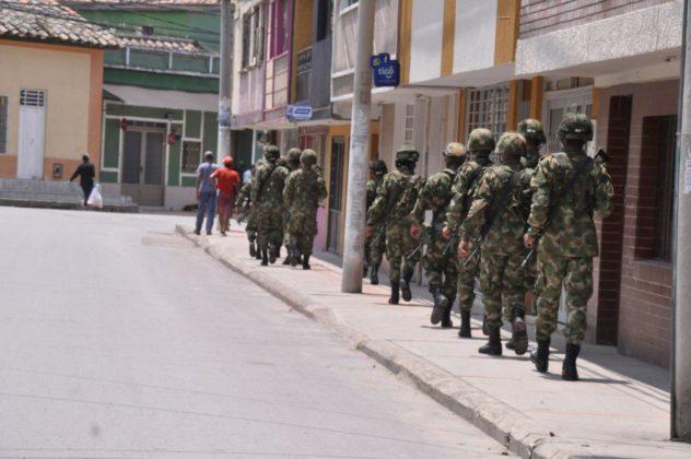 Con Ejército, la Alcaldía de Duitama busca hacer cumplir la orden de aislamiento preventivo 6