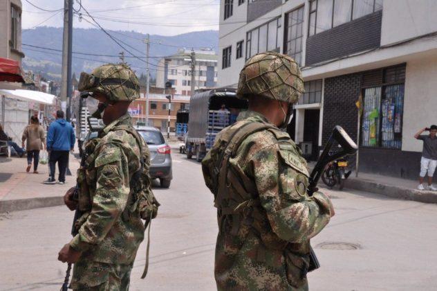 Con Ejército, la Alcaldía de Duitama busca hacer cumplir la orden de aislamiento preventivo 7