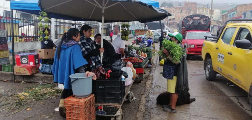 Limitan horario de atención en plazas de mercado de Boyacá 3