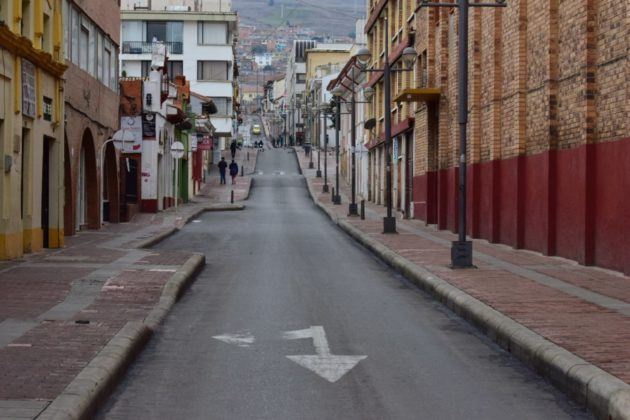 [Galería] Las calles de Boyacá permanecen solas en el primer día de Simulacro de Aislamiento por COVID - 19 27