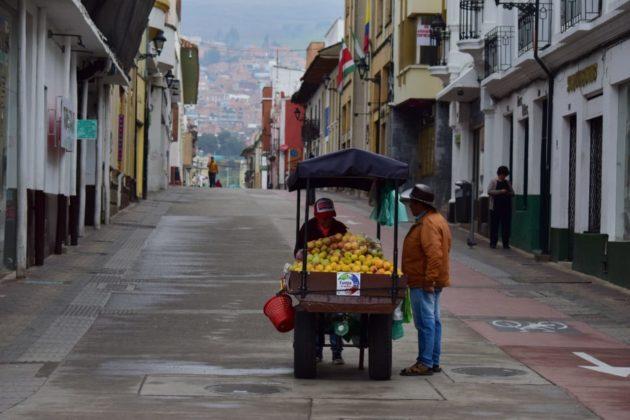 [Galería] Las calles de Boyacá permanecen solas en el primer día de Simulacro de Aislamiento por COVID - 19 23