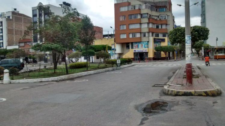 [Galería] Las calles de Boyacá permanecen solas en el primer día de Simulacro de Aislamiento por COVID - 19 8