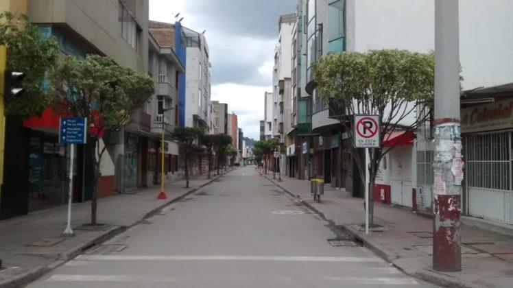 [Galería] Las calles de Boyacá permanecen solas en el primer día de Simulacro de Aislamiento por COVID - 19 7