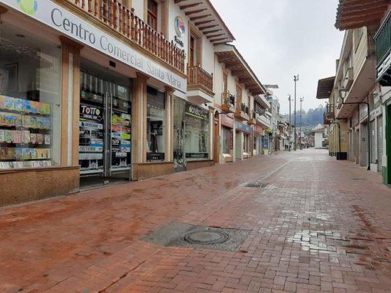 [Galería] Las calles de Boyacá permanecen solas en el primer día de Simulacro de Aislamiento por COVID - 19 10