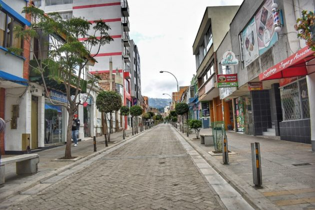 [Galería] Las calles de Boyacá permanecen solas en el primer día de Simulacro de Aislamiento por COVID - 19 32