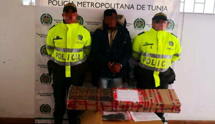 Capturan en Samacá a un hombre que amenazó a una mujer con escopeta calibre 16 3