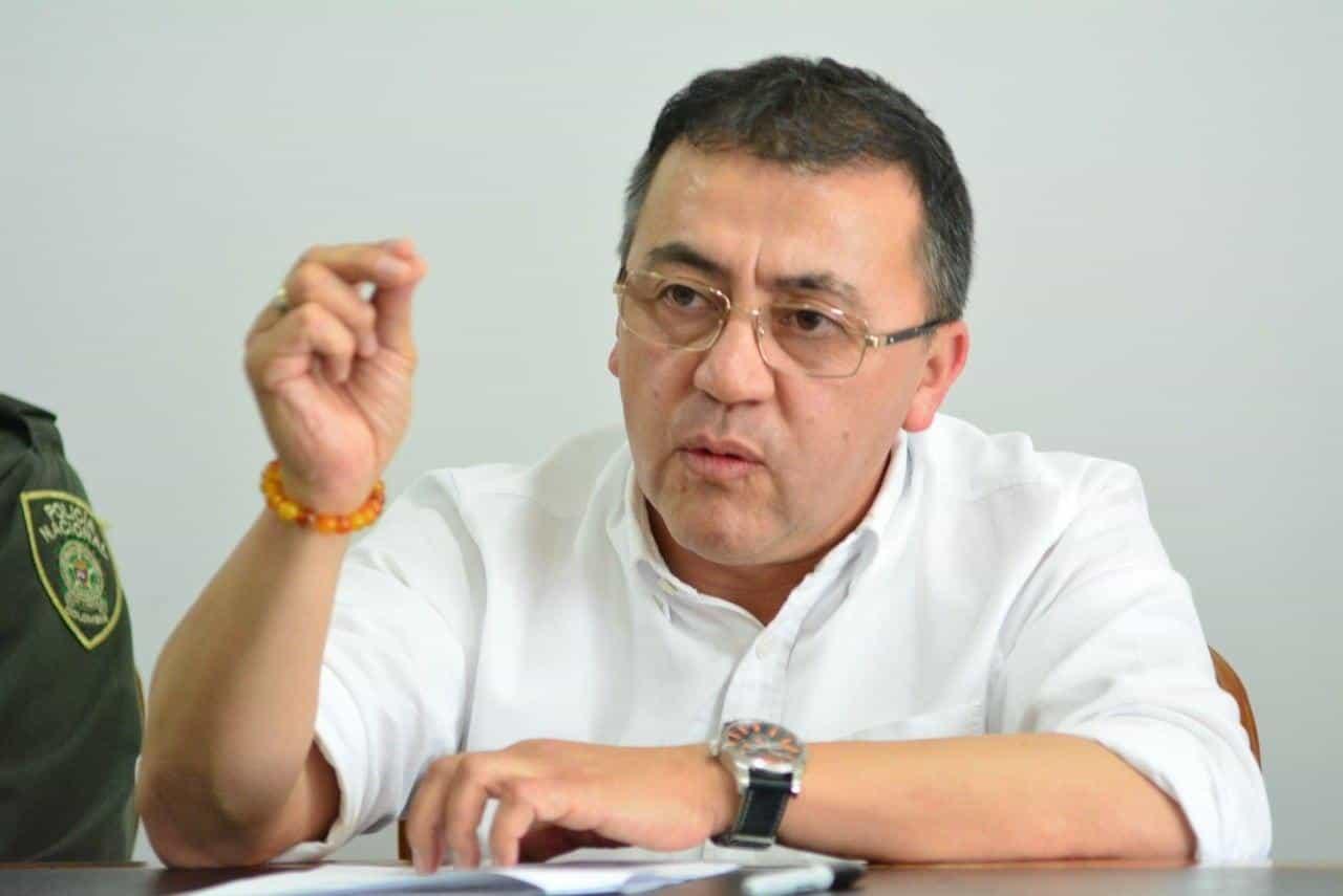 El alcalde de la Ciudad del Sol y del Acero, Rigoberto Alfonso Pérez, defiende su Plan de Desarrollo 'Sogamoso, tarea de todos'. Foto: archivo particular