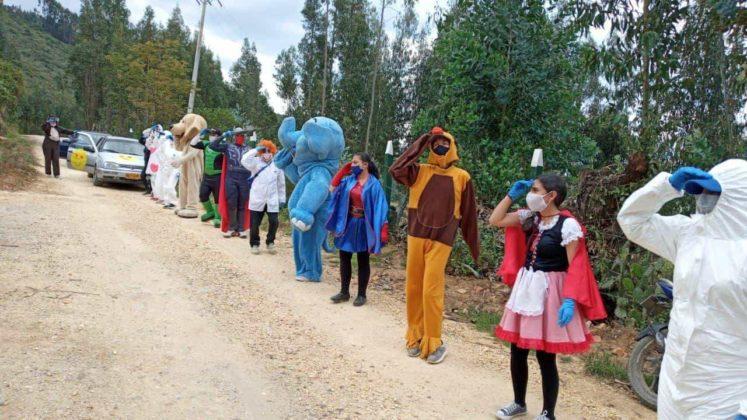 Caravanas de la alegría para los niños de Tibasosa #Tolditos7días 1