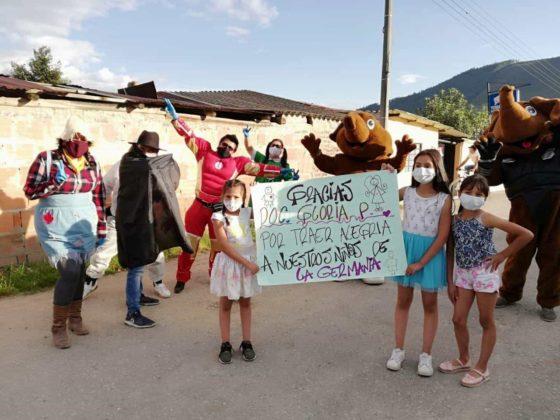 Caravanas de la alegría para los niños de Tibasosa #Tolditos7días 2