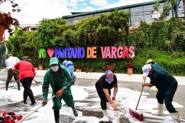 El Pantano de Vargas fue escenario de nueva batalla contra el coronavirus 4
