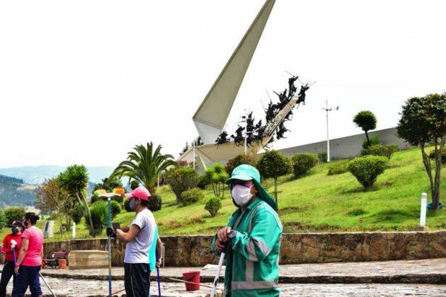 El Pantano de Vargas fue escenario de nueva batalla contra el coronavirus 1
