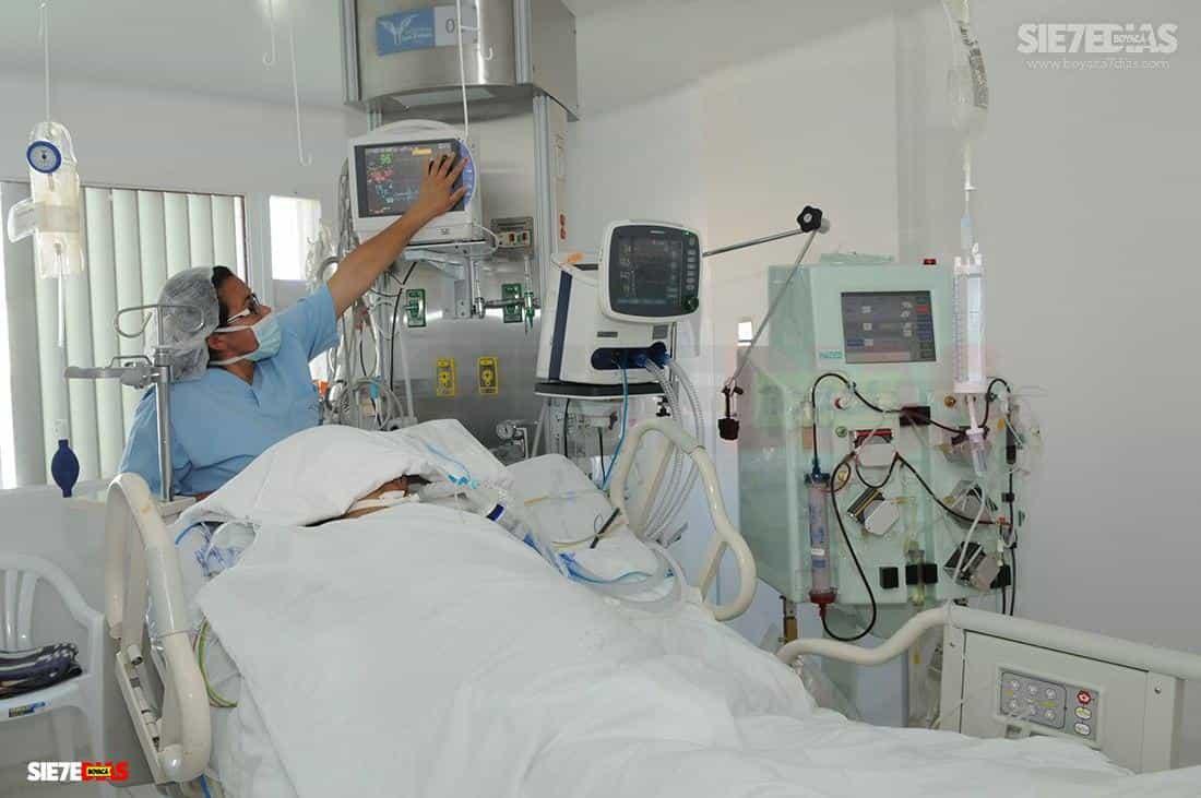 El secretario de Salud de Boyacá prendió las alarmas, por la demanda de UCI precisamente cuando acaba de comenzar lo que sería el mes más complicado de la pandemia.