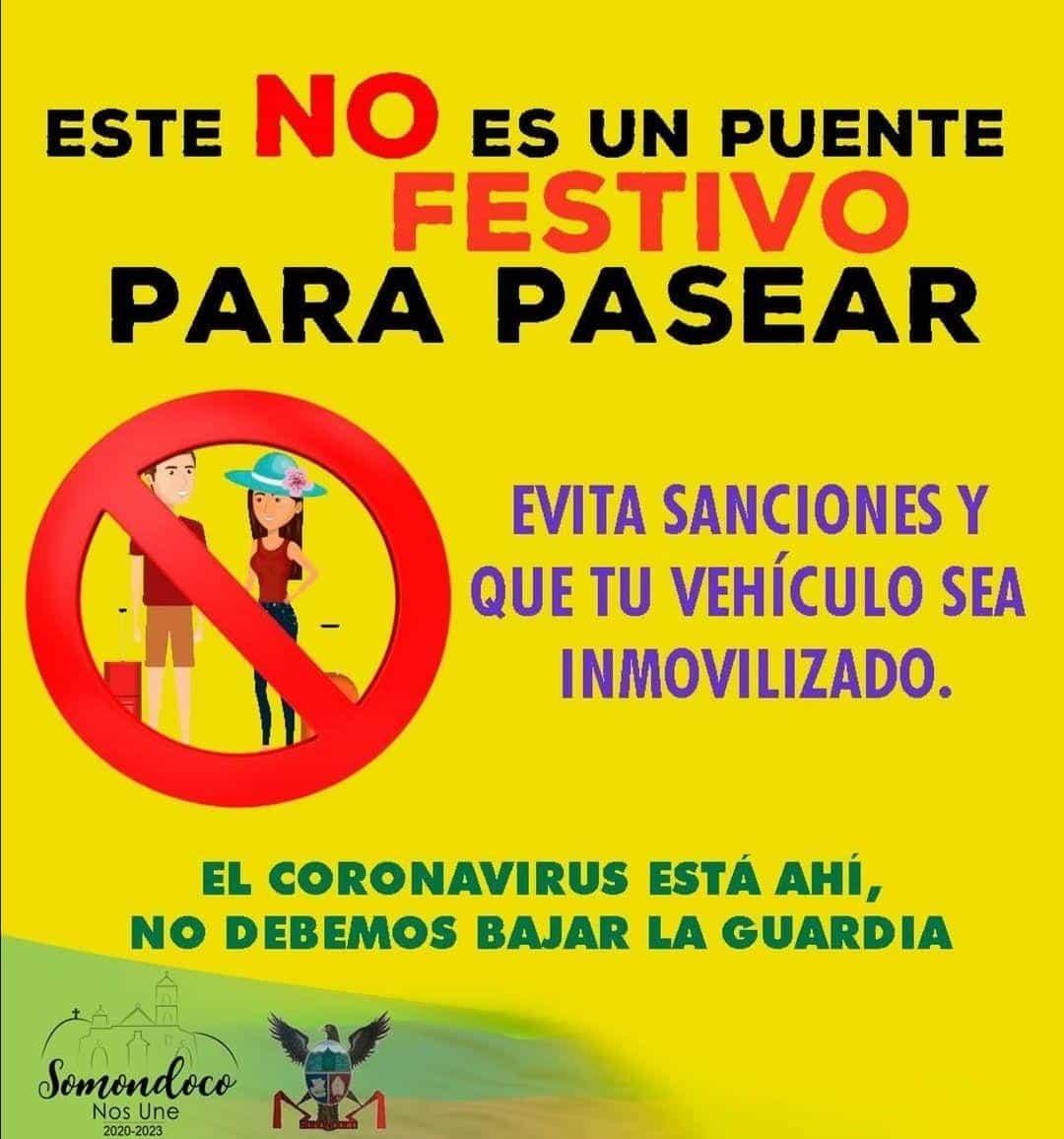 Prohibidos los turistas en Somondoco #Tolditos7días 1