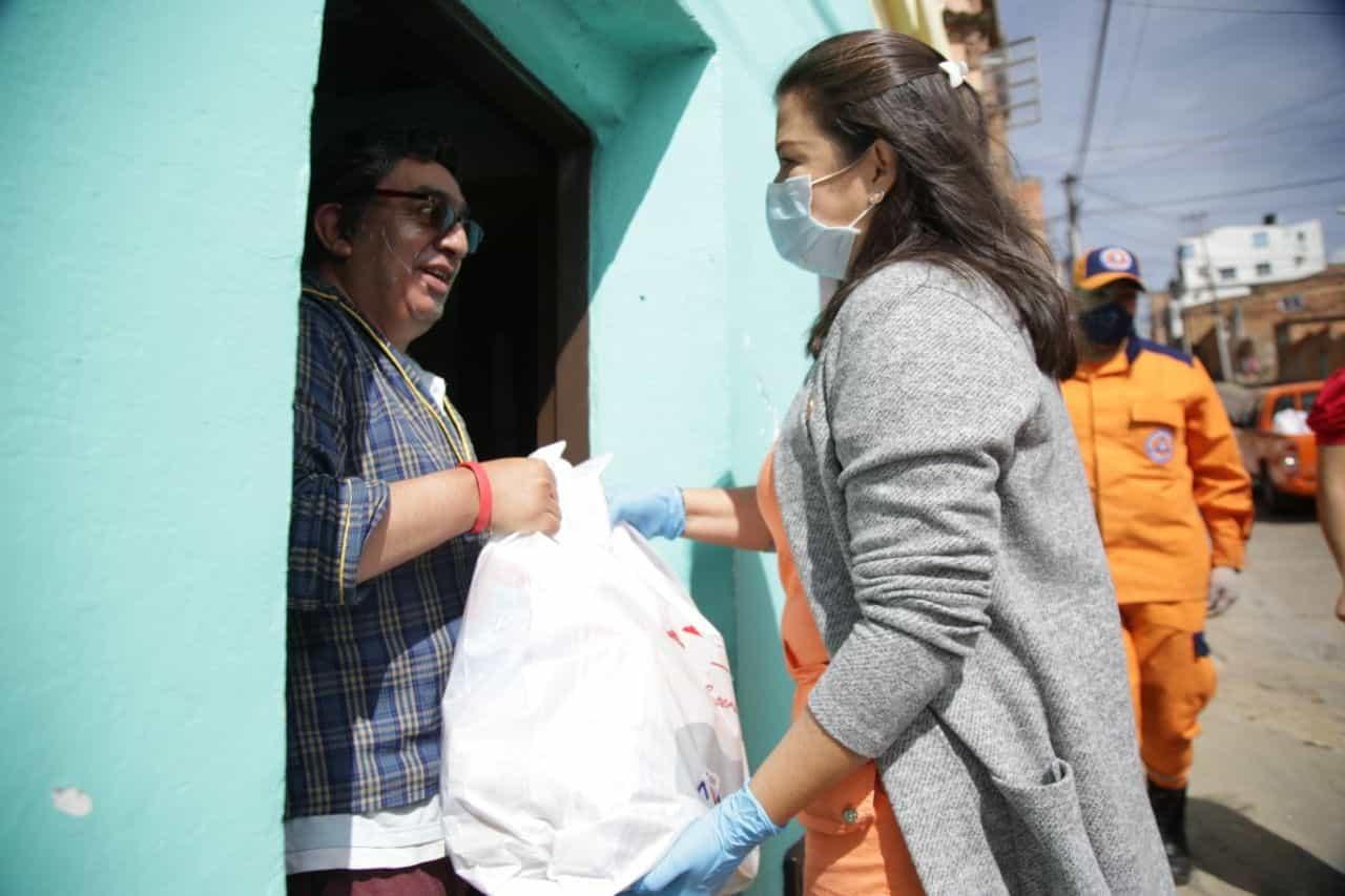 En Tunja se adelanta con éxito la entrega de ayudas humanitarias 1