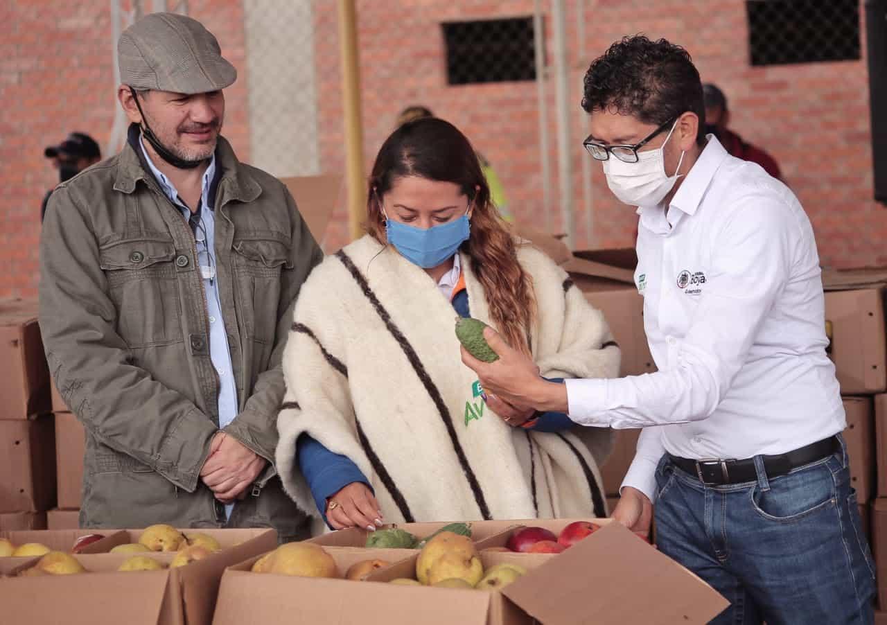 Boyacá y Cundinamarca intercambian productos agrícolas 1