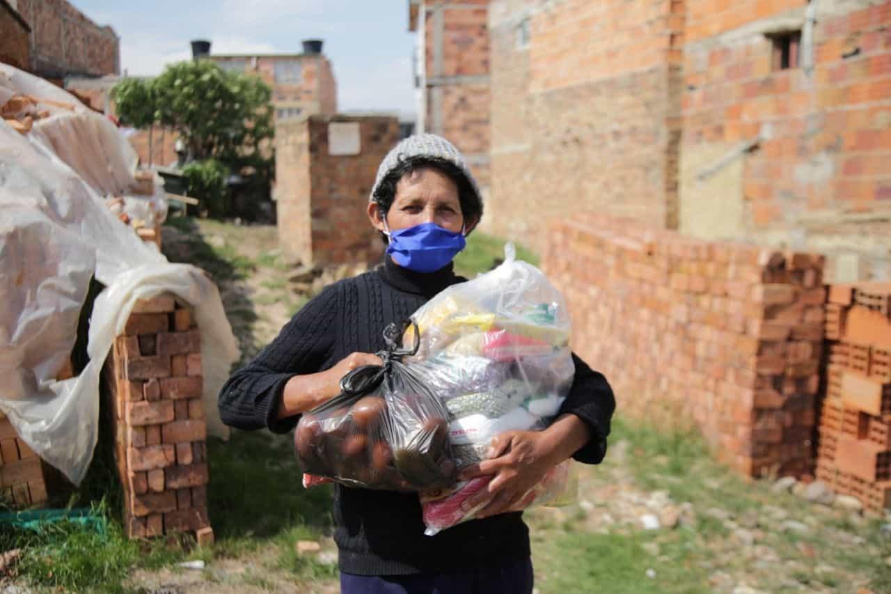 En Tunja se adelanta con éxito la entrega de ayudas humanitarias 2