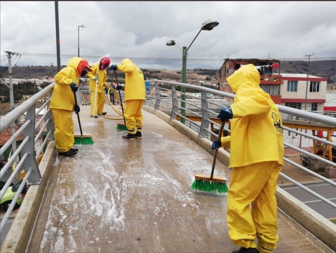 Brote de coronavirus en la empresa de aseo de Tunja genera una nueva alerta: ya irían 20 casos 1