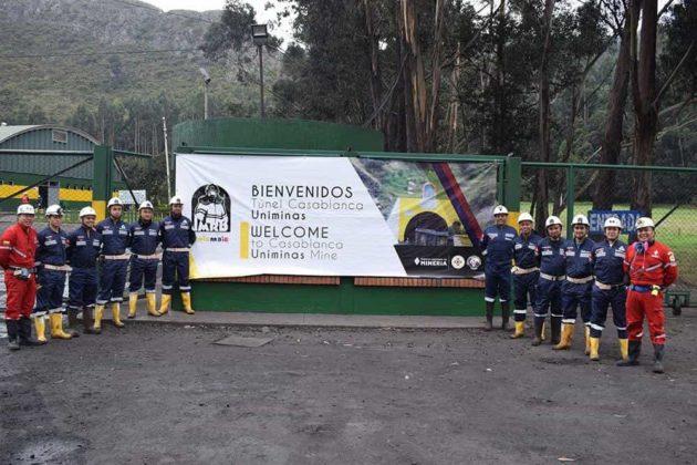 Uniminas S.A.S. cuenta con el túnel para producción minera más largo de Colombia (cinco kilómetros), compañía pionera en el país en procesos de mecanización.