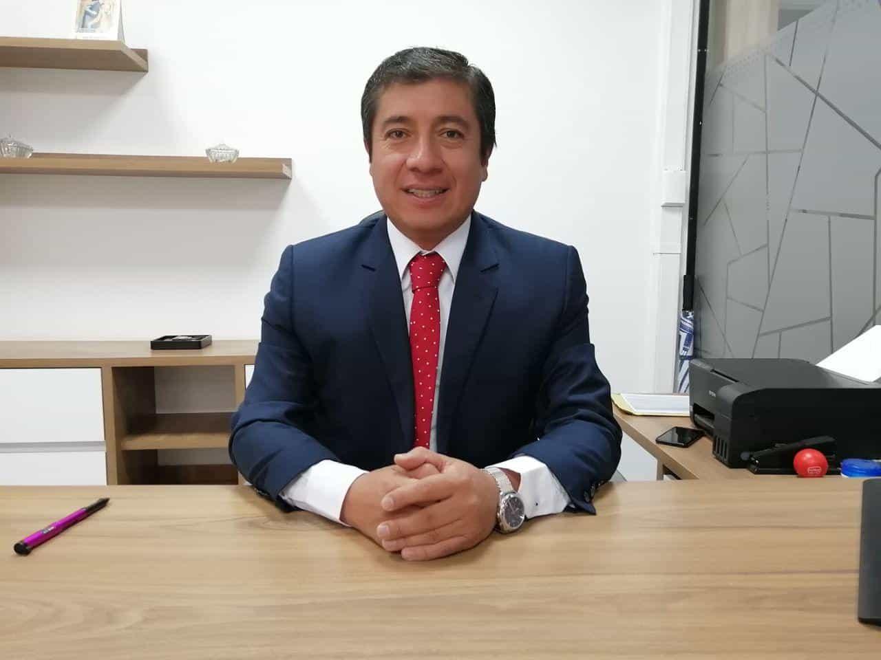 Óscar Javier Cuadros Quiroz, gerente general de la empresa Flota Sugamuxi. Foto: archivo particular