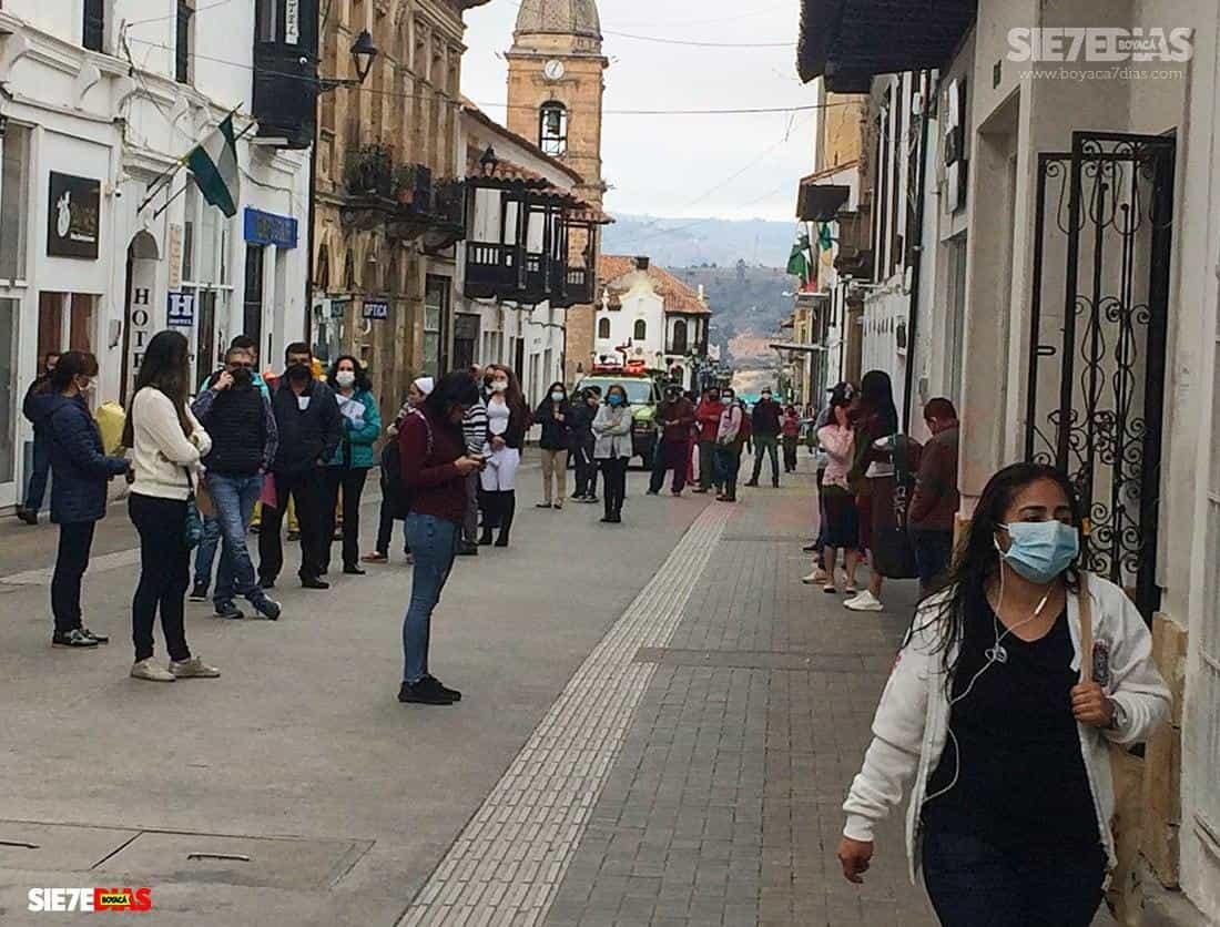 Esta semana la ciudad con más casos positivos en Boyacá ha sido Tunja, con 14. Foto: archivo Boyacá Sie7e Días.
