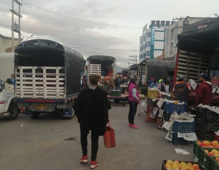Nuevas medidas de orden público en la plaza de mercado de Sogamoso 1