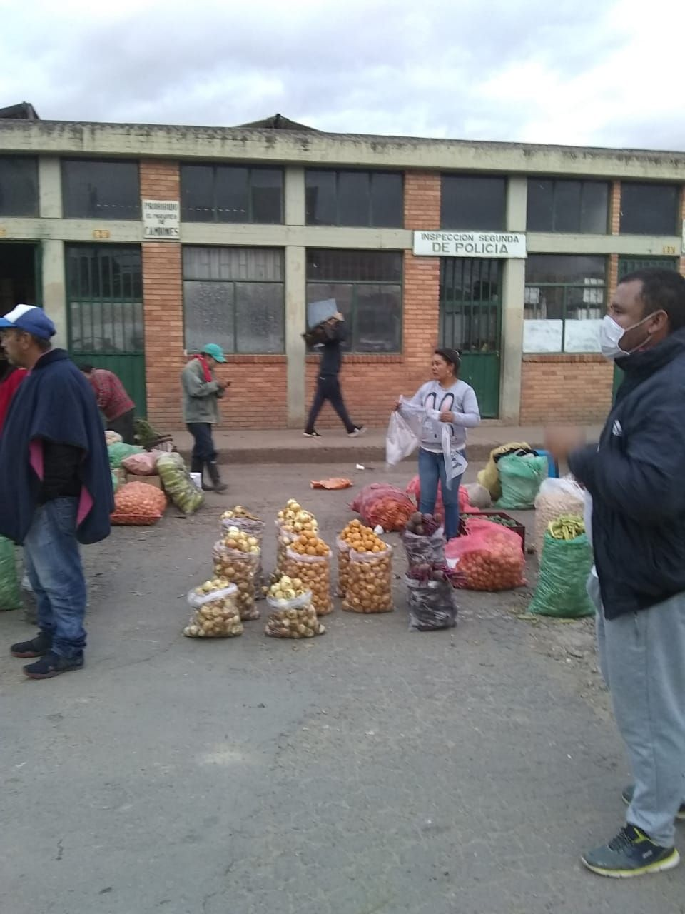 Nuevas medidas de orden público en la plaza de mercado de Sogamoso 3