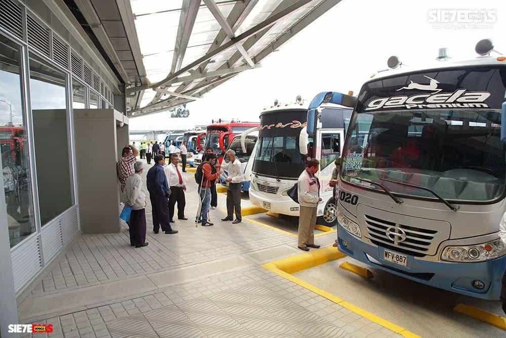 De la Terminal de Transportes de Duitama los despachos serán a las 6:00, 7:00, 8:00, 9:30 y 11:00 de la mañana, y a las 2:00 de la tarde. Foto: Archivo Boyacá Sie7e Días