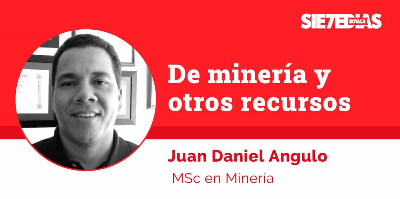 De la fe del minero a la Resolución 100 - Juan Daniel Angulo Argote - #Columnista7días 1
